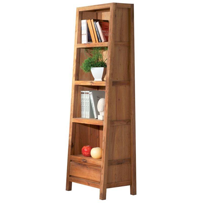 Bibliothèque chêne massif 56cm Lodge Casita LODETA10