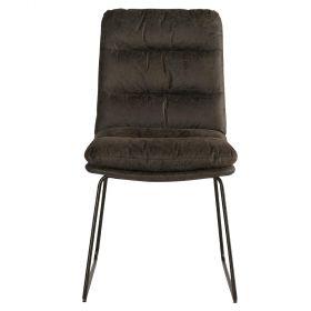 Lot 2 chaises grise Moody Casita CHAMOOGRI