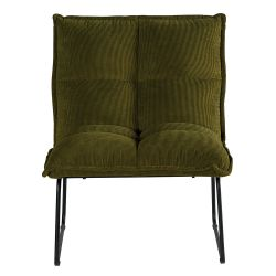 Lot 2 fauteuils velours Calgary Casita FAUCALVER