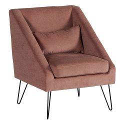 Lot 2 fauteuils rose Victoria Casita FAUVICROSE