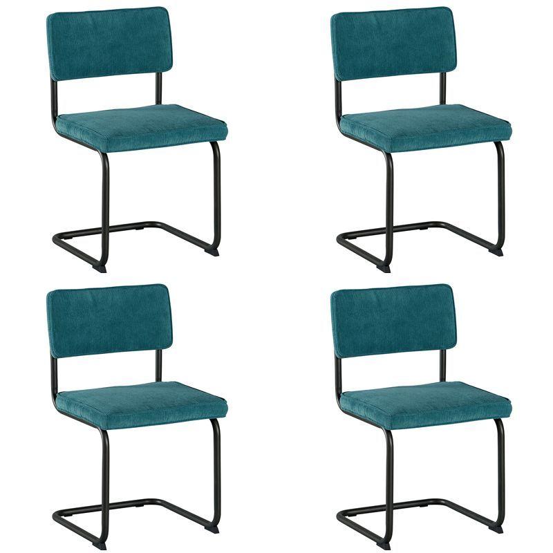 Lot 4 chaises tissu Brampton Casita CHABRABLE