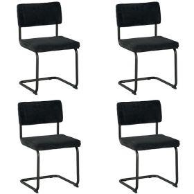 Lot 4 chaises tissu Brampton Casita CHABRAGRI