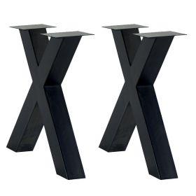 Pieds de table métal Casita PIEDCROIX