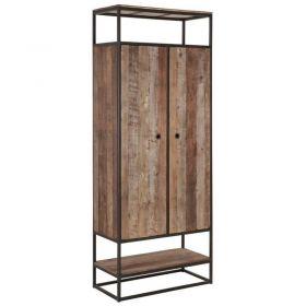 Armoire 2 niches bois recyclé et métal d-bodhi RING 80cm