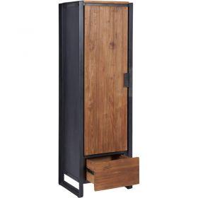 Armoire industrielle bois métal d-bodhi SING 50cm droite