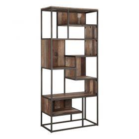 Bibliothèque déstructurée bois recyclé et métal d-bodhi RING 80cm