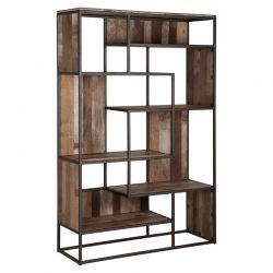 Bibliothèque déstructurée bois recyclé et métal d-bodhi RING 120cm