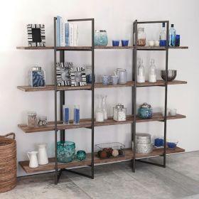 Bibliothèque bois recyclé et métal d-bodhi RING 180cm