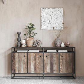 Buffet industriel bois et métal d-bodhi RING 178cm
