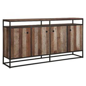 Buffet bois recyclé et métal d-bodhi RING 178cm
