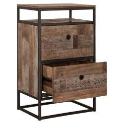 Commode bois recyclé industrielle d-bodhi RING 55cm
