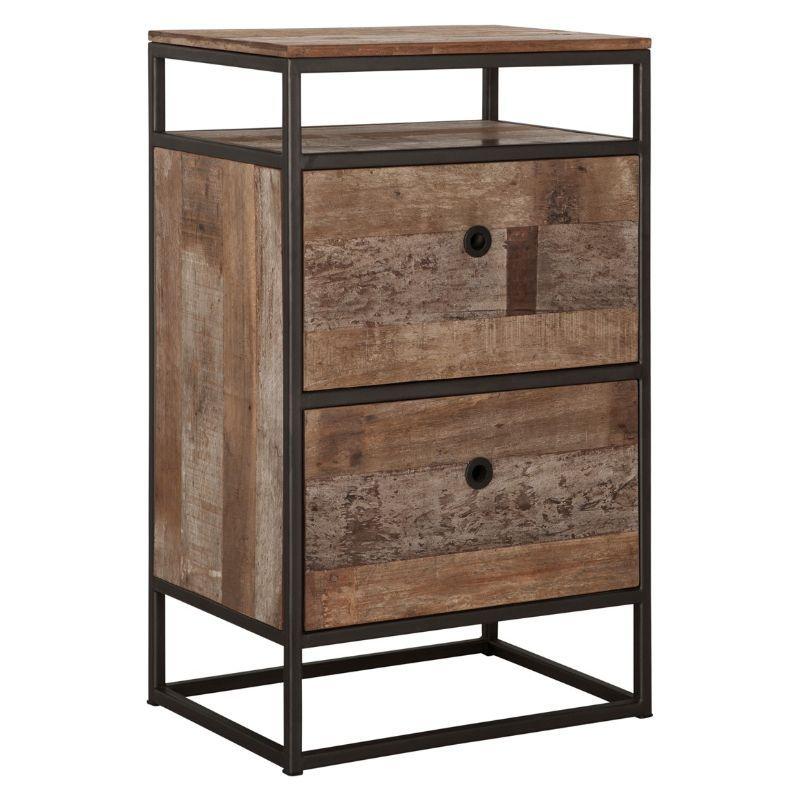 Commode bois recyclé et métal d-bodhi RING 55cm