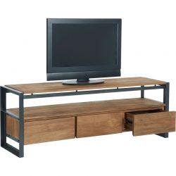 Meuble TV teck et métal d-bodhi SING 160cm