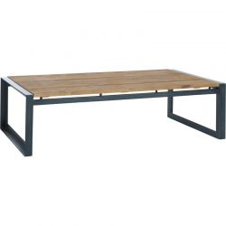 Table basse teck industrielle d-bodhi SING 120cm