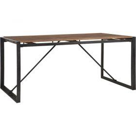 Table repas teck et métal d-bodhi SING 180cm