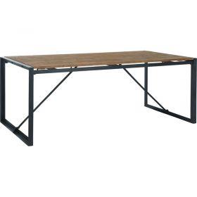 Table repas teck et métal d-bodhi SING 200cm
