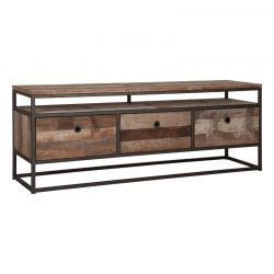 Meuble TV industriel bois recyclé et métal d-bodhi RING 150cm