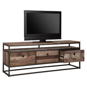 Meuble TV 3 tiroirs bois recyclé et métal d-bodhi RING 150cm