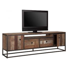Meuble TV industriel bois recyclé et métal d-bodhi RING 175cm