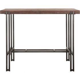 table haute bois recyclé et métal d-bodhi RING 140cm