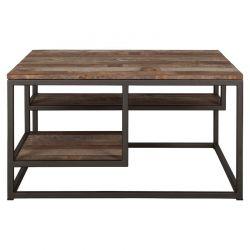 Table basse carrée industrielle d-bodhi RING 75cm