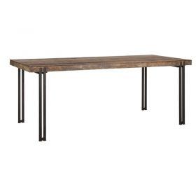 Table bois recyclé et métal d-bodhi RING 200cm