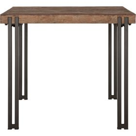 Table carrée bois recyclé industrielle d-bodhi RING 90cm