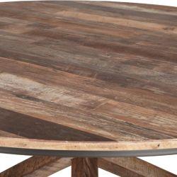 table repas ronde bois recyclé d-bodhi RING 100cm