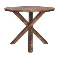 Table ronde bois recyclé d-bodhi RING 100cm