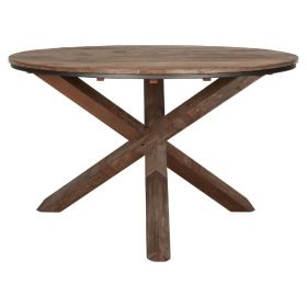 Table ronde bois recyclé d-bodhi RING 130cm