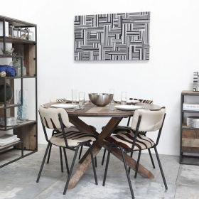 Grande table ronde bois d-bodhi RING 160cm