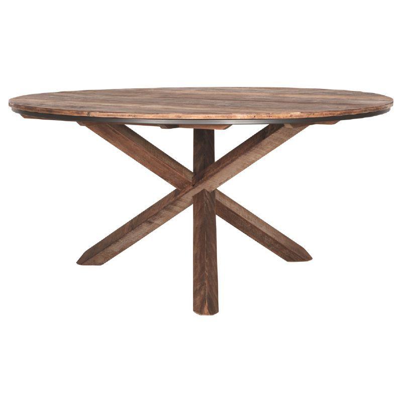 Table ronde bois recyclé d-bodhi RING 160cm