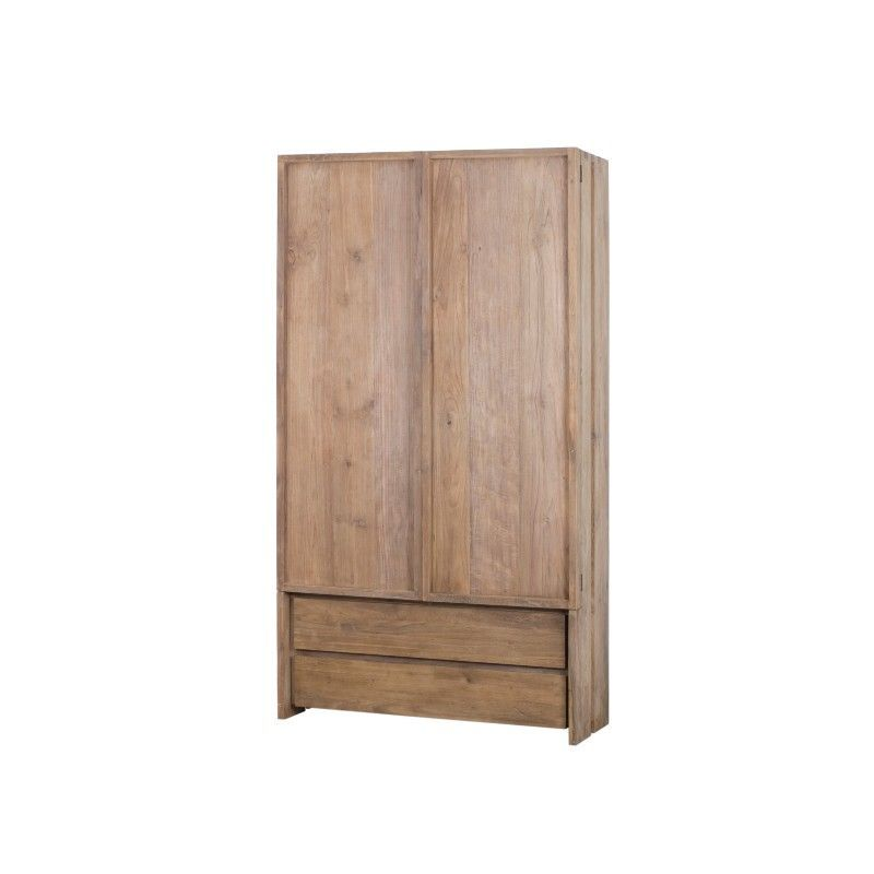 Armoire teck teinté 2 tiroirs WANG D-Bodhi