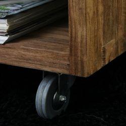 Table basse rectangle teck recyclé 120cm WANG D-Bodhi