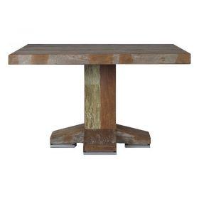 Table repas carrée teck verni 130cm MIND D-Bodhi