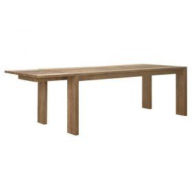 Table repas extensible teck teinté 200/320cm WANG D-Bodhi
