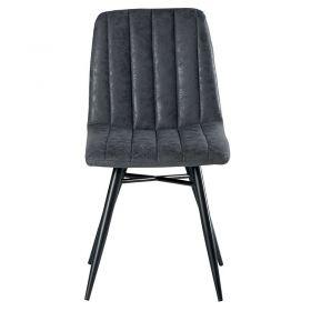 Lot de 4 chaises gris CHA 230GRI