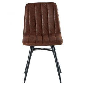 Lot de 4 chaises marron CHA 230HAV