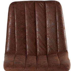 Lot de 4 chaises vintage marron CHA 230HAV