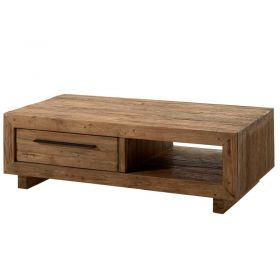 Table basse teck massif 130cm Oregon Casita ORETABA130