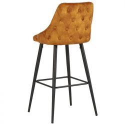 dossier chaises de bar velours CASITA CHABARLOU3OCR