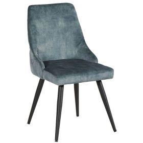 Lot 2 chaises design CASITA CHACAS2PET pétrole