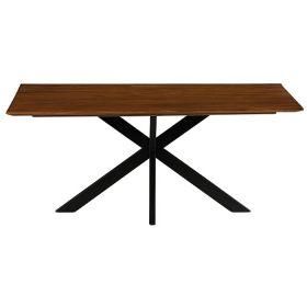Table repas teck Casita 180cm COLTA
