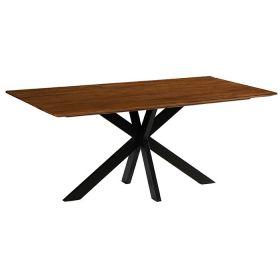 Table industrielle teck Casita 180cm COLTA