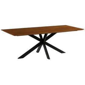 Table industrielle teck Casita 220cm COLTA