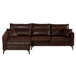 Canapé d'angle marron 260cm Falster Casita FALANGGOBHAV4RG