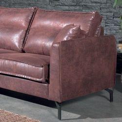 Canapé d'angle tissu havane gauche 260cm Falster Casita FALANGGOBHAV4RG