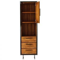 Etagère bois colonne 55cm Casita ILOETA 10