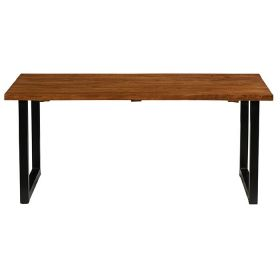 Table repas industrielle teck 180cm Casita ILOTA 180cm