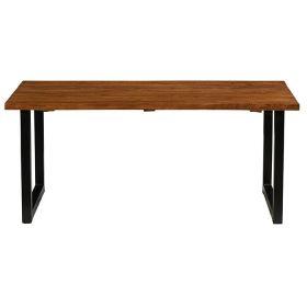 Table repas teck et métal 220cm Casita ILOTA 220cm